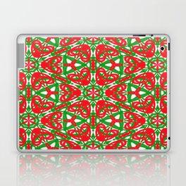 Red, Green and White Kaleidoscope 3375 Laptop & iPad Skin