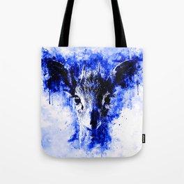 small dik-dik antelope portrait wsbdb Tote Bag