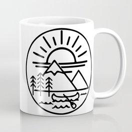 Get Outdoors- circle Coffee Mug