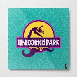 Unicornis Park Metal Print