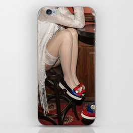 I'd like to take you on a date. Sixteen past eight iPhone Skin