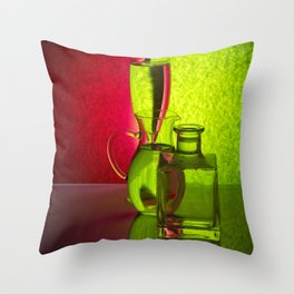Play of light-3 Throw Pillow