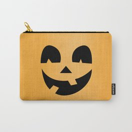 Silly Jack-O-Lantern Carry-All Pouch