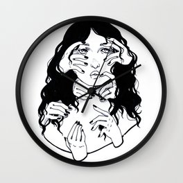 Sometimes I Think I Think Too Much Wall Clock