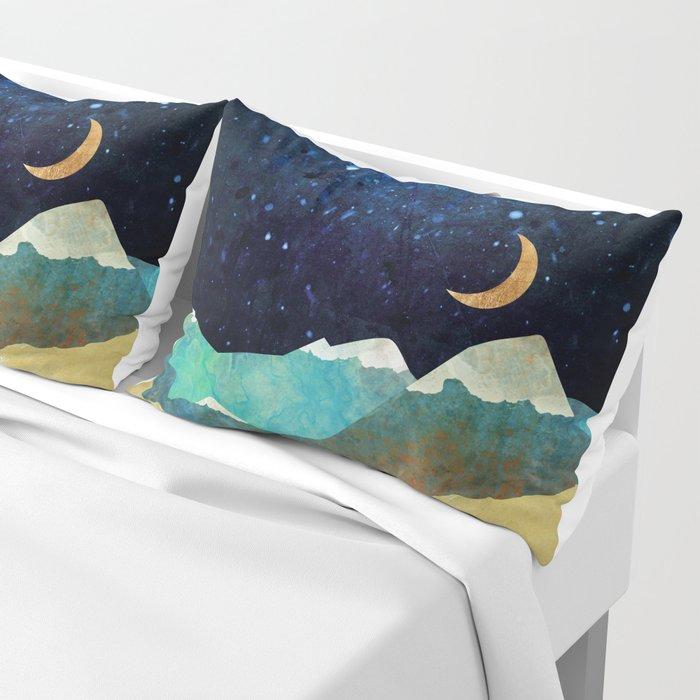 Snowy Night Pillow Sham