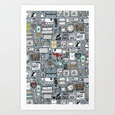 love and stuff Art Print