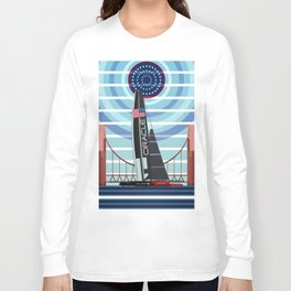 Never Give Up ! Oracle Team USA America's Cup Long Sleeve T-shirt