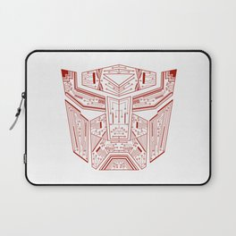 Autobot Tech Red Laptop Sleeve