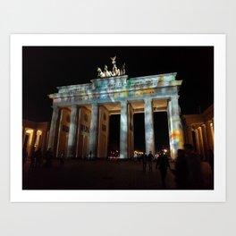 Brandenburg Gate-Berlin Art Print