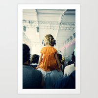 bon iver Art Prints featuring LuLu at Bon Iver by Pope Saint Victor