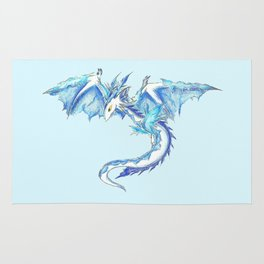 Ice Wyvern Rug