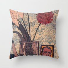 its bukowski Throw Pillow