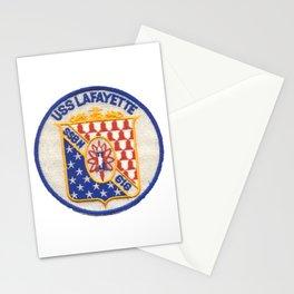 USS LAFAYETTE (SSBN-616) PATCH Stationery Cards
