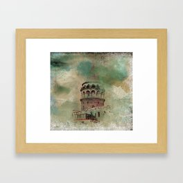 Big Tower Framed Art Print