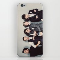 one direction iPhone & iPod Skins featuring One Direction by Diana T