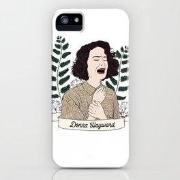 Twin Peaks (David Lynch) Donna Hayward iPhone Case