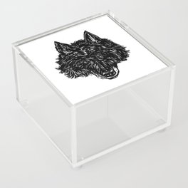 Wolf's Head Acrylic Box