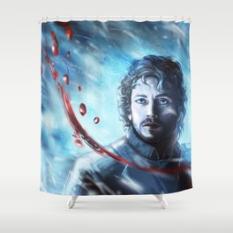 Beauty in Death Shower Curtain