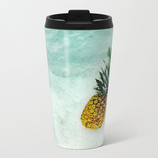 Alone in the Light Metal Travel Mug