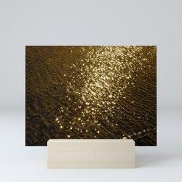 Golden Tide Mini Art Print