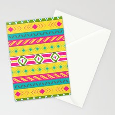 Tribal Brights Stationery Cards