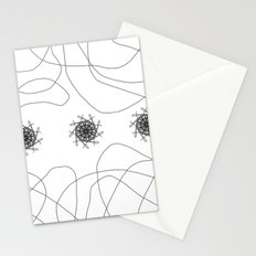 mandalas in maze Stationery Cards