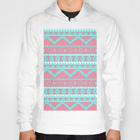 aztec Hoodies featuring AZTEC by Acus
