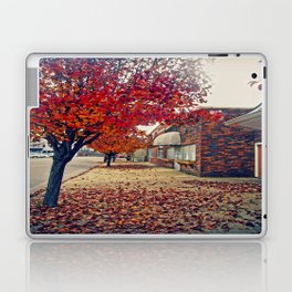 Autumn in Downtown Ironton Laptop & iPad Skin
