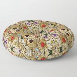 Medieval medley Floor Pillow