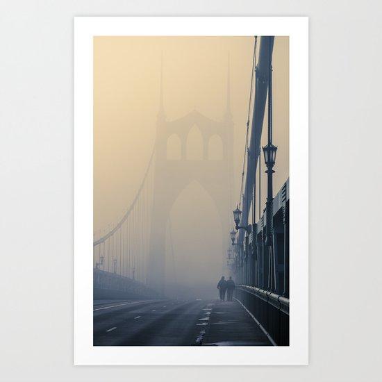 Gothic Fog Art Print