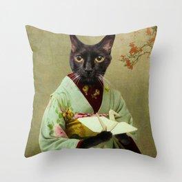 Mou-chan Throw Pillow