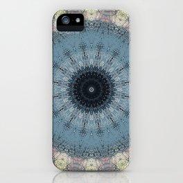 Delicate Detailed Pastel Mandala iPhone Case