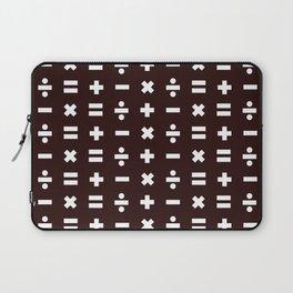 Math Pattern Laptop Sleeve