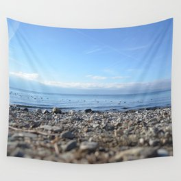 Rocky Beach Descent Wall Tapestry