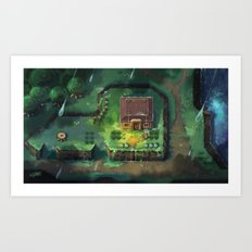 Zelda - A Link to the Past Art Print