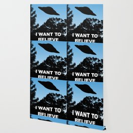 I Want to Believe poster Wallpaper