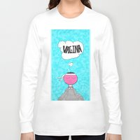 vagina Long Sleeve T-shirts featuring ...Vagina... by Daniel Belay