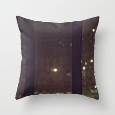 Something About The Rain Throw Pillow