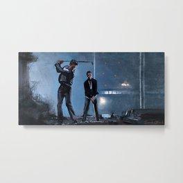 Golfing Buddies (paper street soap company) Metal Print