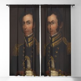 Alfred Jacob Miller - Portrait of Colonel Alexander Smith (1790-1858) Blackout Curtain