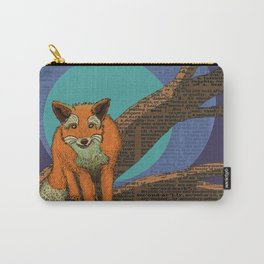 Fox at night Carry-All Pouch