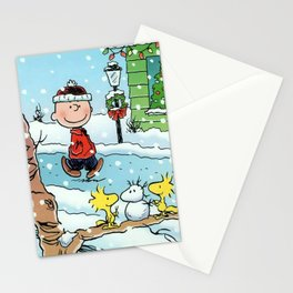 snoopy christmast Stationery Cards