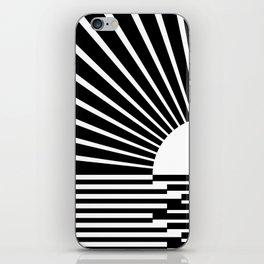 White rays iPhone Skin