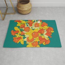 Daffodil Bouquet Rug