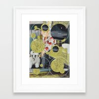 pony Framed Art Prints featuring PONY by WeLoveHumans