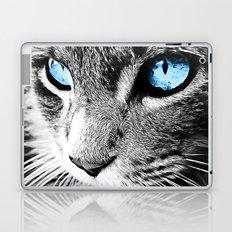 Kitty Blue Eyes Laptop & iPad Skin