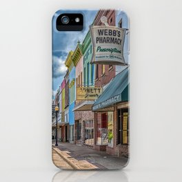 Quaint Streetscape iPhone Case