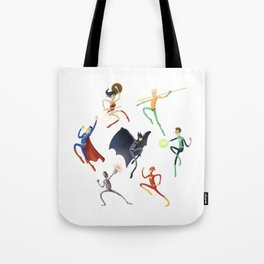 Spaghetti Justice League Tote Bag