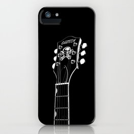 Gretsch Head - Headstock - Rockabilly - Rock Star - Music iPhone Case