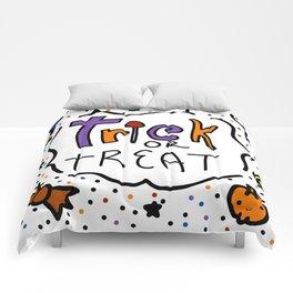 Trick or Treat Halloween | Veronica Nagorny Comforters